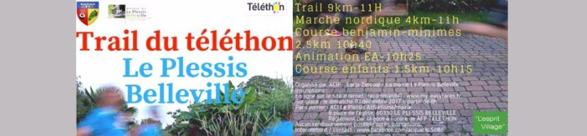 Trail du Téléthon – Plessis-Belleville